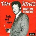 Cover for Belgium. For other 45rpm covers of Tom Jones see link on the left